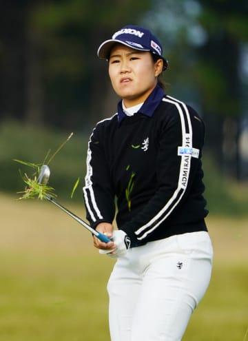 米女子ゴルフ、畑岡は48位 第1R終了、渋野125位 画像1