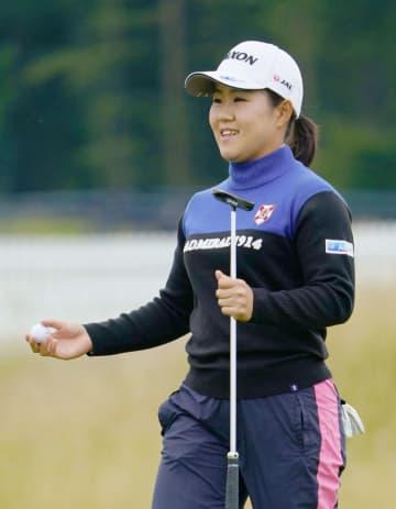 畑岡奈紗70、6打差11位 米女子ゴルフ第3日 画像1