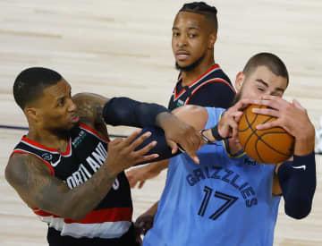 NBA、グリズリーズが敗退 渡辺雄太は出番なし 画像1