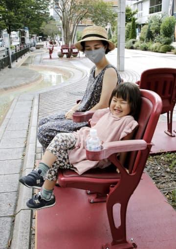 仙台駅周辺で球場の観客席再活用 「ボールパークの雰囲気感じて」 画像1
