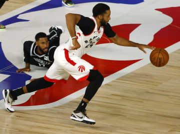 NBA、ラプターズが2連勝 プレーオフ、東C1回戦第2戦 画像1