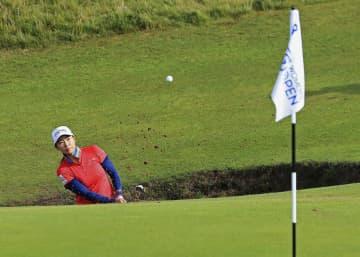 ゴルフ、渋野の予選通過は絶望的 全英女子オープン第2日 画像1