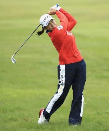 渋野は105位で予選落ち 全英女子ゴルフ、野村が9位 画像1