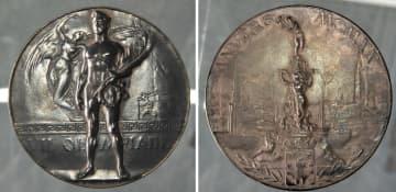 日本の初メダルが行方不明 アントワープ五輪テニスの熊谷 画像1