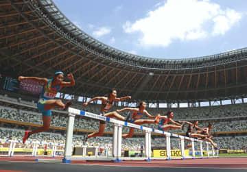 国立競技場で小中学生の競技会 ライジングスター陸上 画像1
