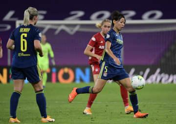 サッカー女子、熊谷のリヨン4強 欧州チャンピオンズリーグ 画像1