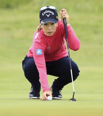 上田6位、ポポフV 全英女子ゴルフ最終日 画像1