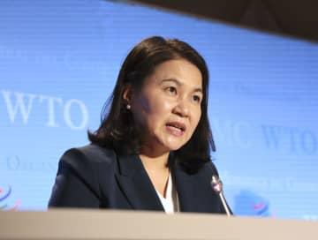 韓国候補、日本の支持に期待 WTO事務局長選 画像1