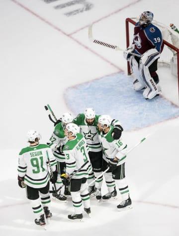 NHLプレーオフ、スターズ2勝 東西カンファレンス準決勝 画像1