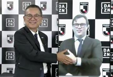 DAZNとの放送権契約2年延長 Jリーグ、総額2239億円 画像1