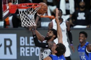 NBA、クリッパーズが3勝目 プレーオフ、ナゲッツ2勝目 画像1