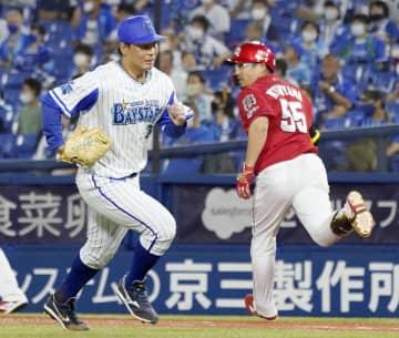 D2―4広(26日) 松山が先制打に勝ち越し打 画像1
