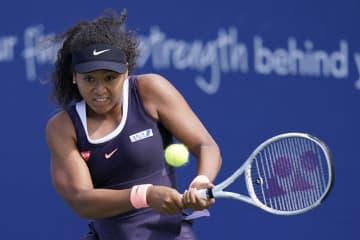 テニス、大坂なおみが4強入り W&Sオープン女子シングルス 画像1