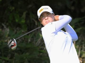 ゴルフ、19歳の笹生が首位浮上 ニトリ・レディース第2日 画像1