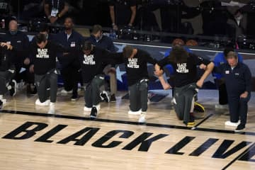 NBAがプレーオフを再開 黒人銃撃へ抗議のため中断 画像1