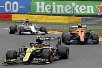 F1、フェルスタッペンが3番手 ベルギーGP予選 画像1