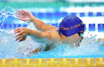 競泳、長谷川が好タイムで1位 東京都特別大会最終日 画像1