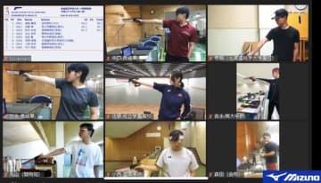 オンラインで高校生の射撃大会 コロナ禍での新たな方式 画像1