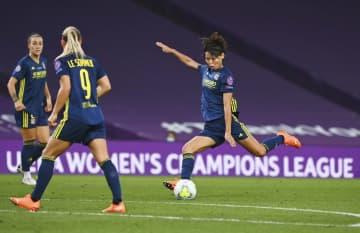 サッカー、熊谷紗希ゴール決める リヨン5連覇、女子の欧州CL 画像1