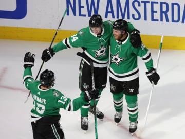 NHL、スターズなどが3勝目 プレーオフ、東西C準決勝 画像1