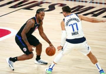 NBA、クリッパーズ西の準決へ プレーオフ1回戦、東は準決開始 画像1