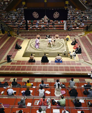 秋場所も観客の上限約2500人 相撲協会、7月同様の運営 画像1