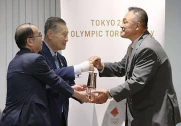 聖火、五輪博物館で公開 JOC山下氏「選手の支えに」 画像1