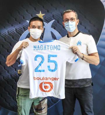 サッカー、長友がマルセイユ加入 仏1部、「侍魂で戦う」と意欲 画像1