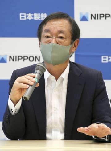 日本製鉄、追加改革が「必須」 橋本社長会見、経営環境厳しく 画像1