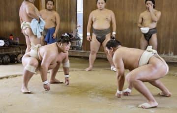 大相撲、再入幕の明生は精力的 「どんどん稽古していく」と意欲 画像1