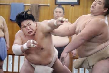 新関脇の大栄翔、初優勝に意欲 秋場所、同学年の朝乃山も刺激に 画像1