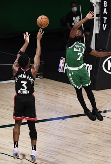 NBA、ラプターズが初勝利 プレーオフ東西準決勝 画像1