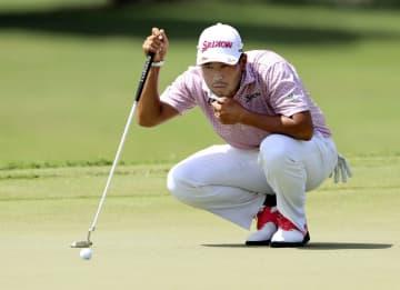 男子ゴルフ、松山は14位に後退 米今季最終、ツアー選手権第1日 画像1