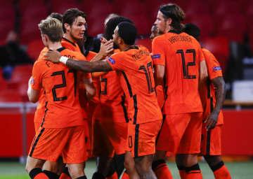 サッカー、オランダが白星発進 欧州ネーションズL 画像1