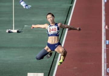 女子走り幅跳び、中西が日本新 日本パラ陸上選手権、第1日 画像1
