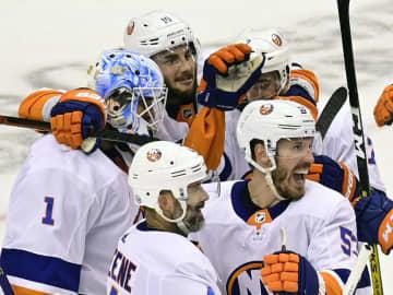 NHLアイランダーズが決勝進出 プレーオフ、フライヤーズに快勝 画像1