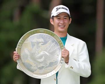 ゴルフ、星野がPO制し3勝目 大会2勝目、男子最終日 画像1