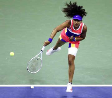 全米テニス、大坂が2年ぶり8強 コンタベイトにストレート勝ち 画像1