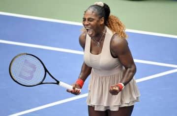 全米テニス、セリーナが8強入り 男子はティエムらが準々決勝進出 画像1
