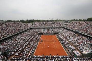 全仏テニスは観客1万人超で開催 指定ホテルなど感染防止策 画像1