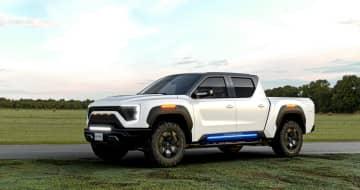 GM、米電気トラック提携 株式11%取得、製造受託 画像1