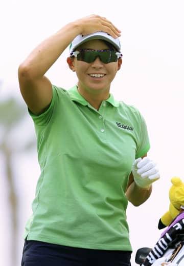 渋野日向子はグリーンと同組 女子ゴルフメジャー第2戦 画像1