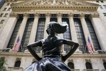 NY株反発、439ドル高 IT関連買い戻し 画像1