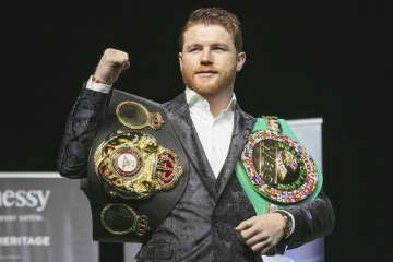 WBA王者アルバレスが提訴 DAZNと大型契約巡り 画像1
