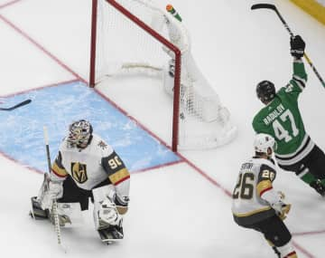 NHL、スターズ競り勝ち2勝目 プレーオフ、西の決勝で白星先行 画像1