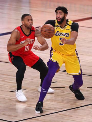 NBA、レーカーズが3勝目 プレーオフ西カンファ準決勝 画像1