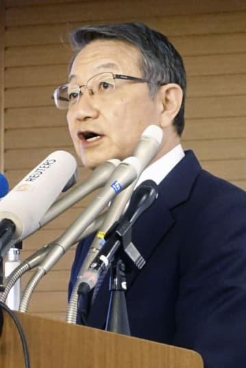 商船三井社長「環境回復に全力」 重油流出事故で陳謝 画像1