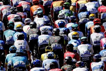 ツール・ド・フランスに動揺走る コロナ感染で強豪チーム除外も 画像1