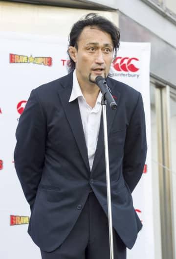 ラグビー大野さん退団セレモニー 日本代表歴代最多の98キャップ 画像1