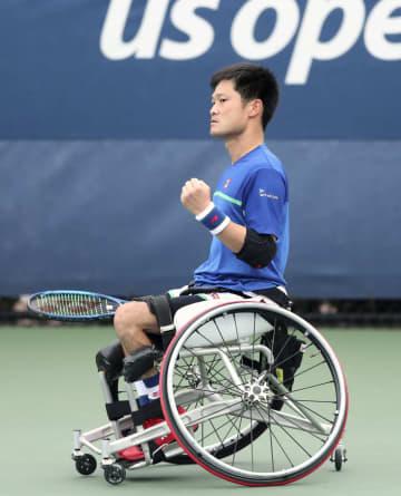 国枝慎吾、上地結衣が決勝進出 全米テニス車いすの部 画像1